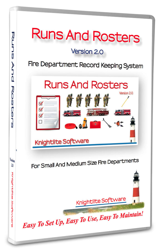 Runs and Rosters - Fire Department Record Keeping Software